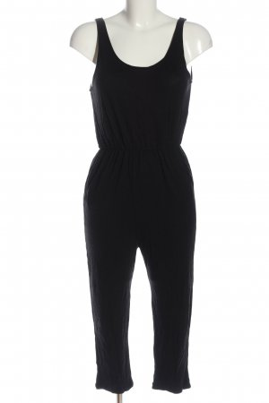 H&M Divided Langer Jumpsuit black casual look