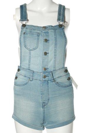 H&M Divided Ogrodniczki niebieski W stylu casual
