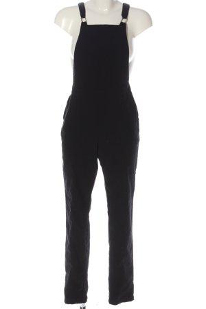 H&M Divided Ogrodniczki czarny W stylu casual