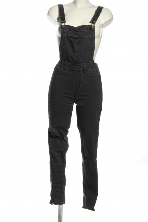 H&M Divided Peto negro look casual