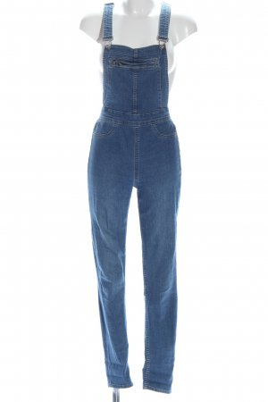 H&M Divided Overall blauw casual uitstraling