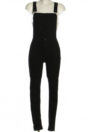 H&M Divided Latzhose schwarz Casual-Look