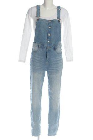 H&M Divided Latzhose blau Casual-Look
