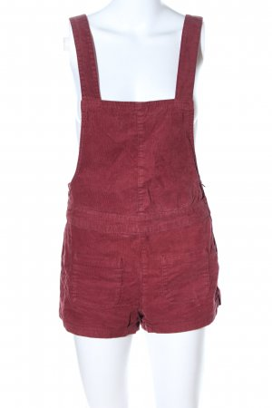 H&M Divided Salopette rosso stile casual