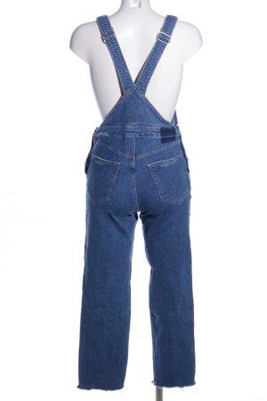 H&M Divided Salopette en jeans bleu style décontracté