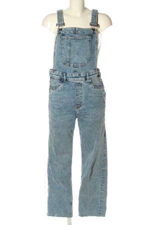 H&M Divided Jeans met bovenstuk blauw casual uitstraling