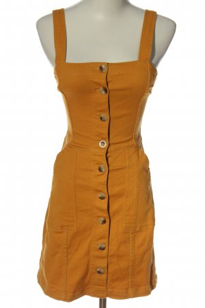 H&M Divided Latzrock hellorange Casual-Look
