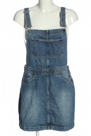 H&M Divided Salopette-jupe bleu style décontracté