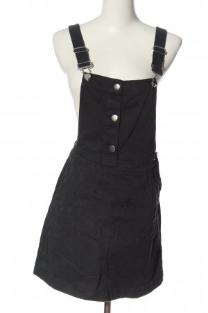 H&M Divided Pinafore Overall Skirt black casual look