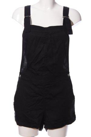 H&M Divided Pantalón corto tipo peto negro look casual