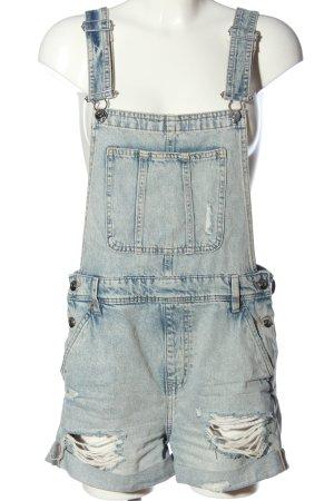 H&M Divided Pantalón corto tipo peto azul Algodón