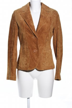 H&M Divided Blazer in pelle bronzo stile professionale