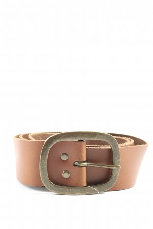 H&M Divided Faux Leather Belt brown casual look