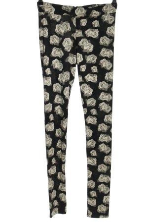 H&M Divided Leggings Blumenmuster Casual-Look