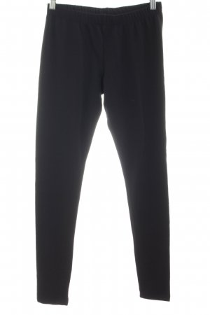 H&M Divided Leggings schwarz sportlicher Stil