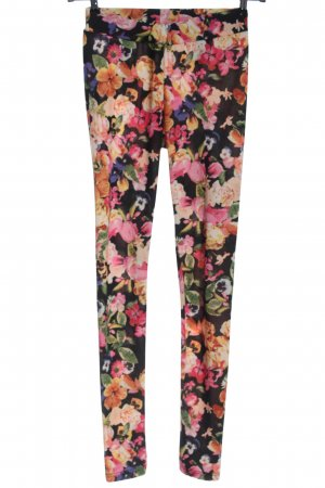 H&M Divided Leggings flower pattern casual look