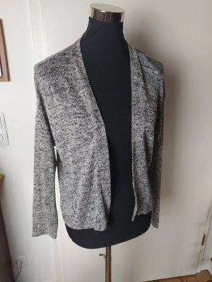 H&M DIVIDED leichter Cardigan, graumeliert, S