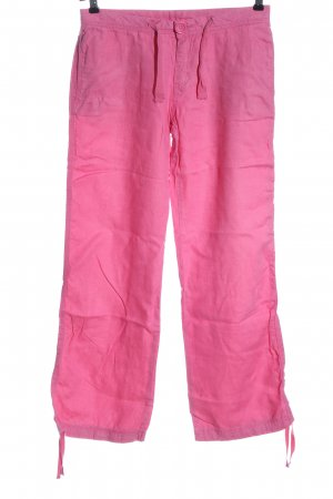 H&M Divided Linen Pants pink casual look
