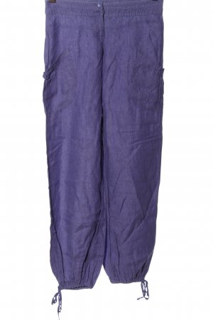 H&M Divided Linen Pants lilac casual look