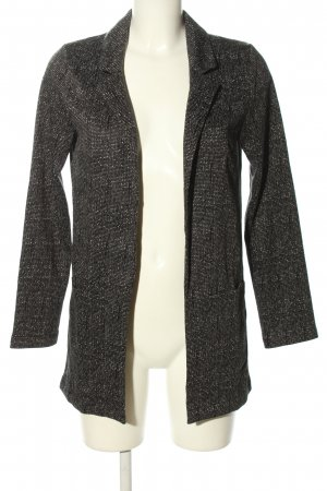 H&M Divided Long-Blazer Allover-Druck Casual-Look