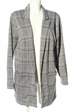 H&M Divided Long-Blazer Karomuster Casual-Look
