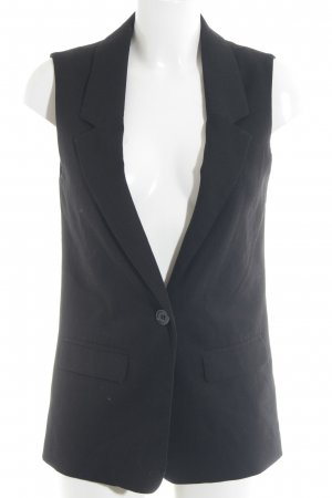 H&M Divided Long-Blazer schwarz Elegant