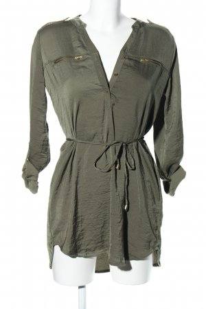 H&M Divided Long-Bluse khaki Casual-Look