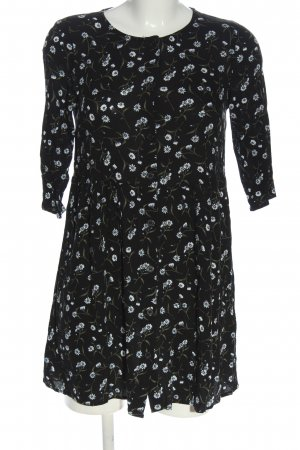 H&M Divided Blusenkleid Allover-Druck Casual-Look