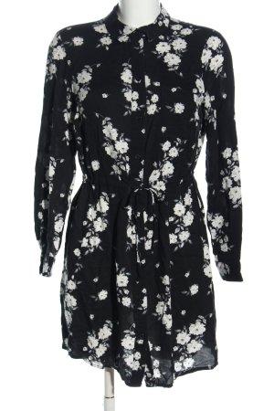 H&M Divided Blouse longue motif de fleur style décontracté