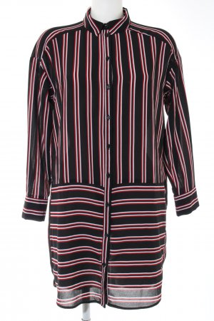 H&M Divided Long-Bluse Streifenmuster Casual-Look