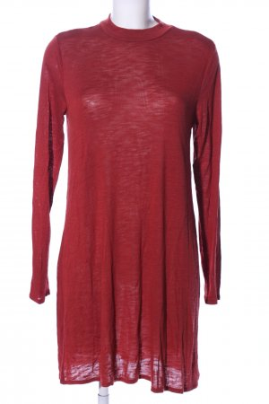 H&M Divided Longpullover rot Casual-Look
