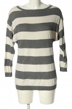 H&M Divided Long Sweater light grey-white flecked casual look