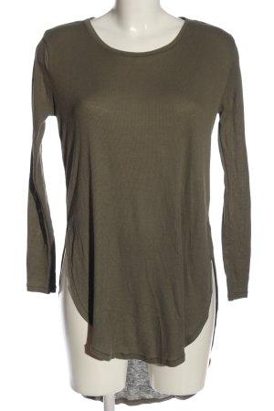 H&M Divided Longshirt braun Casual-Look