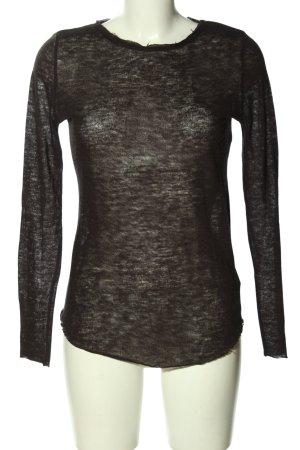 H&M Divided Longshirt schwarz schlichter Stil