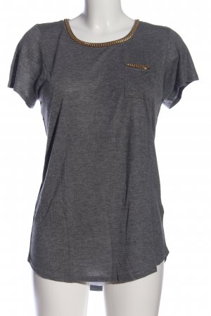 H&M Divided Longshirt hellgrau meliert Casual-Look
