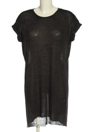 H&M Divided Longshirt schwarz meliert Elegant