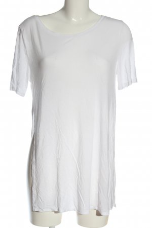 H&M Divided Longshirt weiß Casual-Look