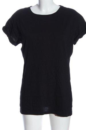H&M Divided Longshirt schwarz Casual-Look