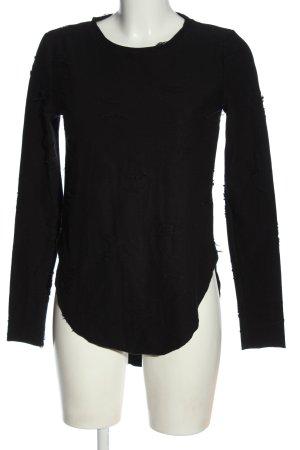 H&M Divided Longshirt schwarz Elegant