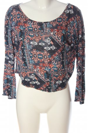 H&M Divided Longsleeve abstract pattern casual look