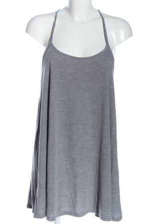 H&M Divided Top largo gris claro moteado look casual