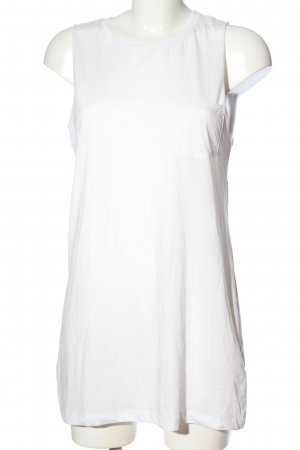 H&M Divided Top lungo bianco stile casual