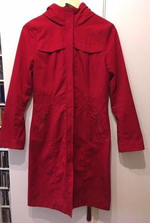 H&M Manteau à capuche rouge brique