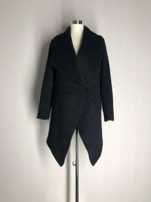 H&M Divided Short Coat black polyester