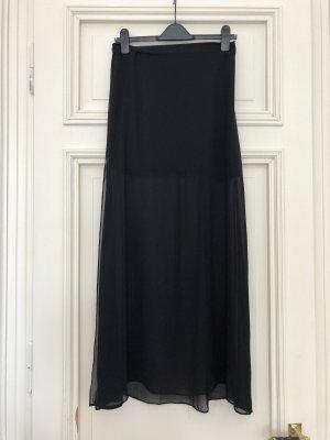 H&M Divided Falda larga negro