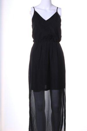 H&M Divided Maxikleid schwarz Casual-Look