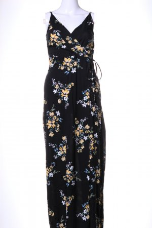 H&M Divided Maxi Dress flower pattern casual look
