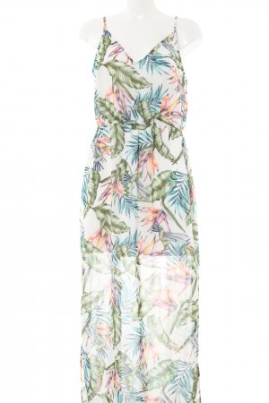 H&M Divided Maxikleid Blumenmuster Casual-Look