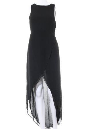H&M Divided Maxikleid schwarz Elegant