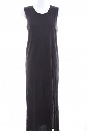 H&M Divided Maxikleid schwarz Casual-Look